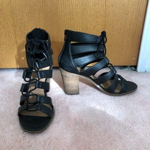 Crown Vintage Shoes - Black Booties